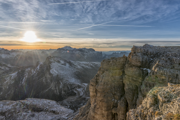 fahrt reisen baum winter nationalpark sonnenuntergang