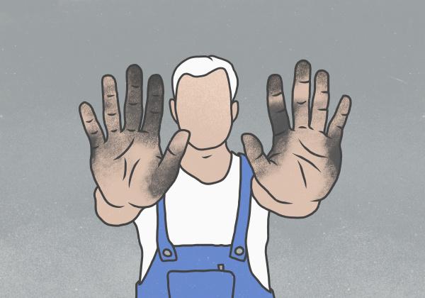 maenner mann werkzeug horizontal handwerkszeug illustration