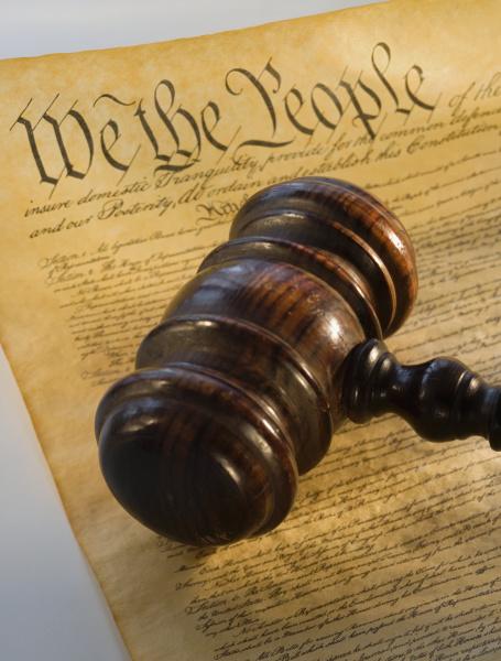 richterhammer ueber die verfassung
