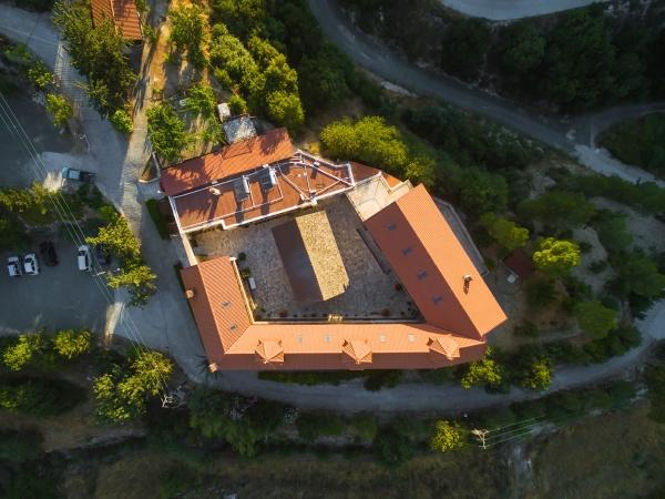 luft heiliges kloster von panagia amasgous