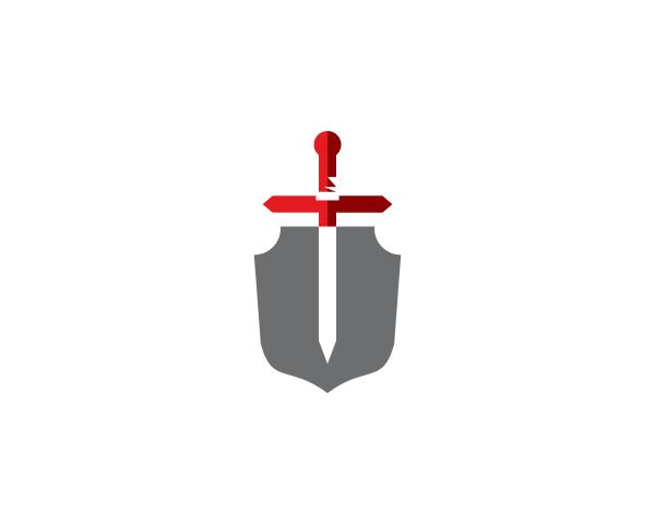 schwert schild logo