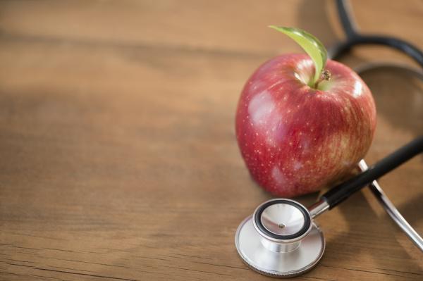 frische horizontal frucht obst waagerecht stethoskop