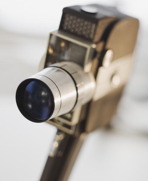 nahaufnahme der filmkamera