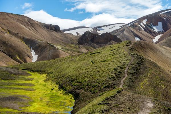 fahrt reisen island vulkanisch gebirge berg