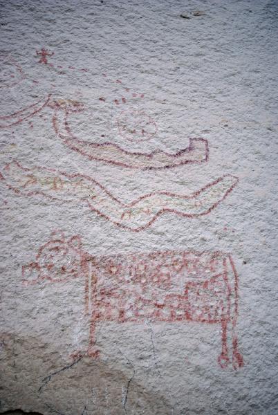 prehistorische felsenmalerei hochland von uyuni