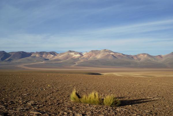 der cerro de siete colores berg