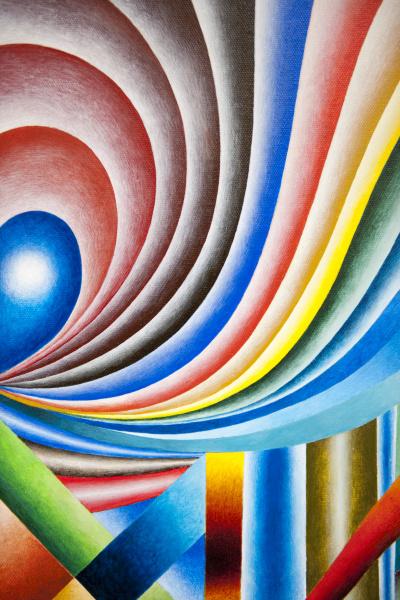 farb und geometrie kompositionen in