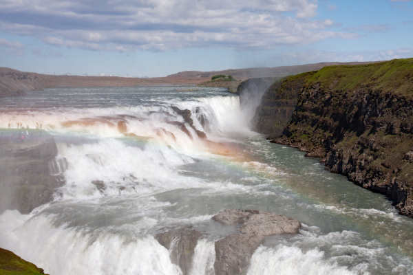 gullfoss wasserfall island