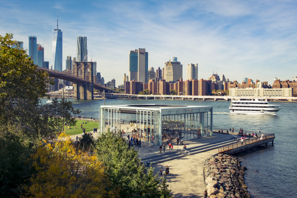 usa new york city skyline und