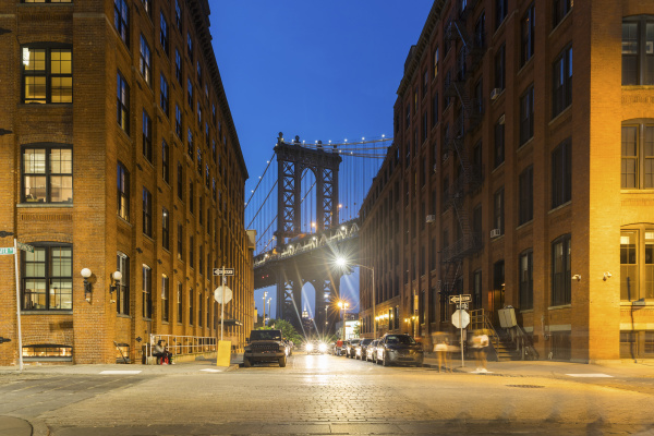 usa new york city blick auf