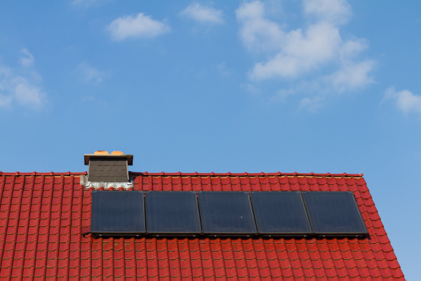 clean energy by solar cells and