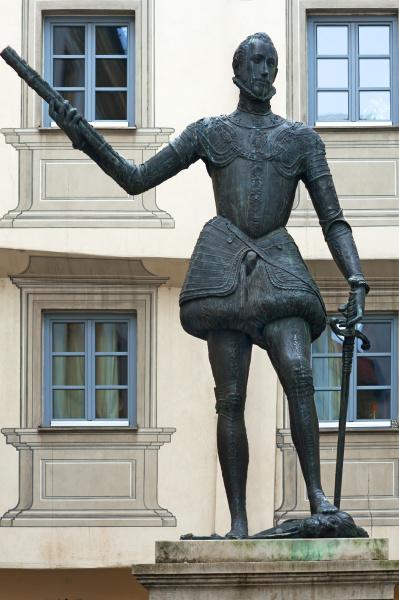 skulptur von dem don juan von