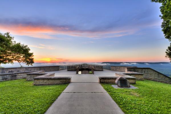blau farbe baum horizont park stein