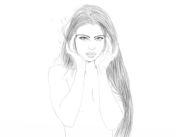 frau mode portrait portraet potrait weinlese
