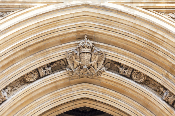 palast von westminster parlament fassade london