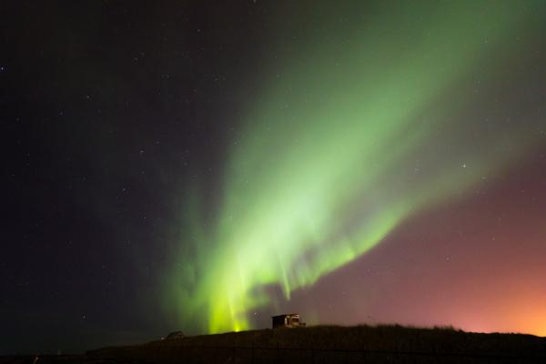 das nordlicht aurora borealis island