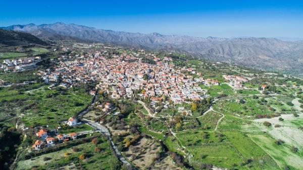 haeuser stadt zypern markt gemeinde dorf
