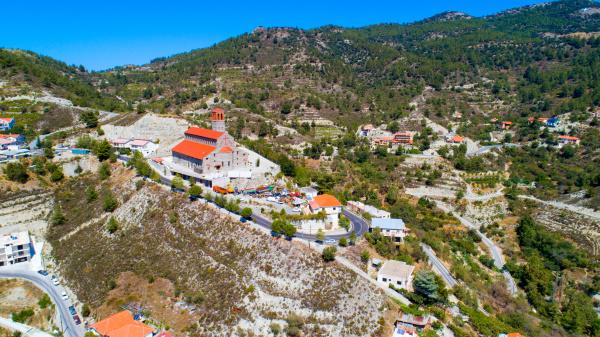 agios arsenios kirche kyperounda limassol zypern