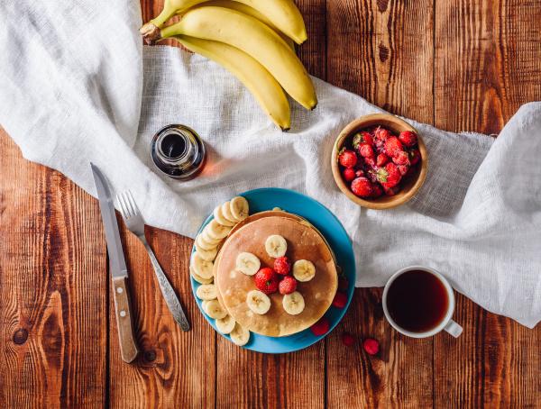 kuchen erdbeere banane eierkuchen palatschinken nachtisch