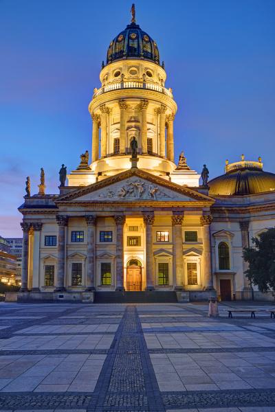 die neue kirche am gendarmenmarkt in