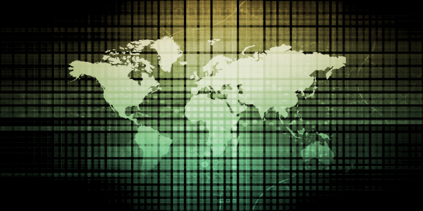 global technologie loesungen daten internet konzept