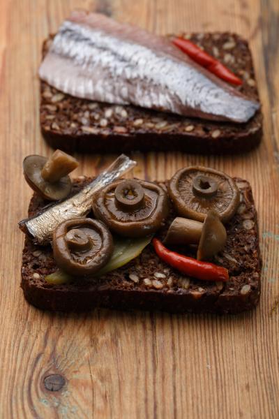 offene sandwiches oder smorrebrod