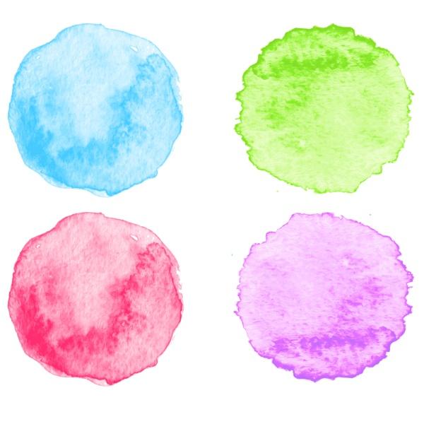blaue aquarell spritzer vektor illustration eps