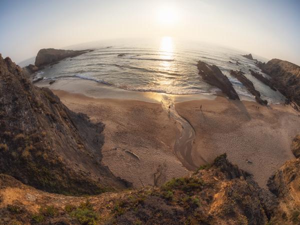 portugal alentejo zambujeira do mar praia