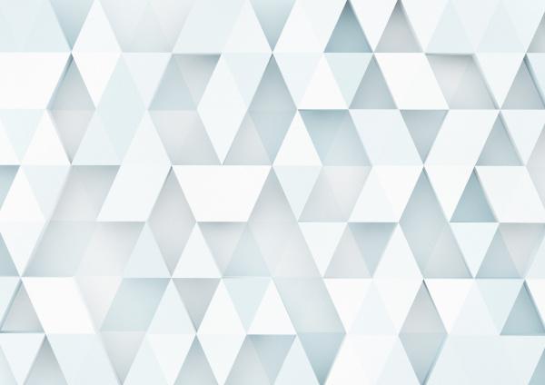 dreidimensionales dreiecksmuster