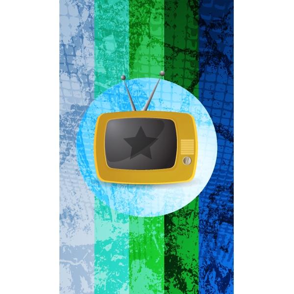retro tv hintergrund
