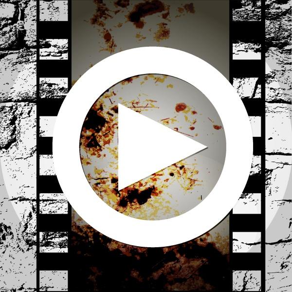 grunge stil abstrakte musik spielen symbol