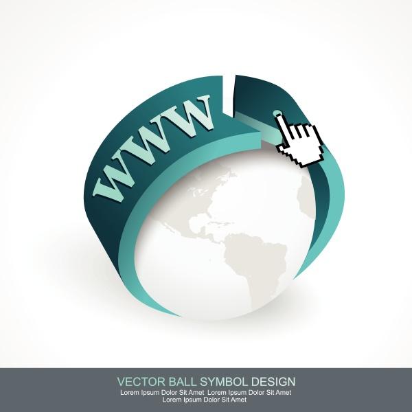 business-konzept-design, mit, graukugel, und, blauem, pfeil. - 26812635