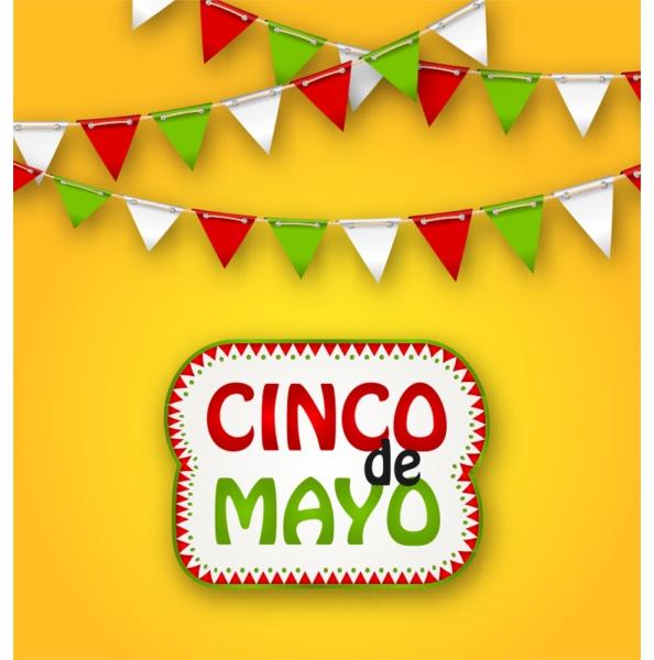 cinco de mayo ferienkabrgrund mexikanisches plakat