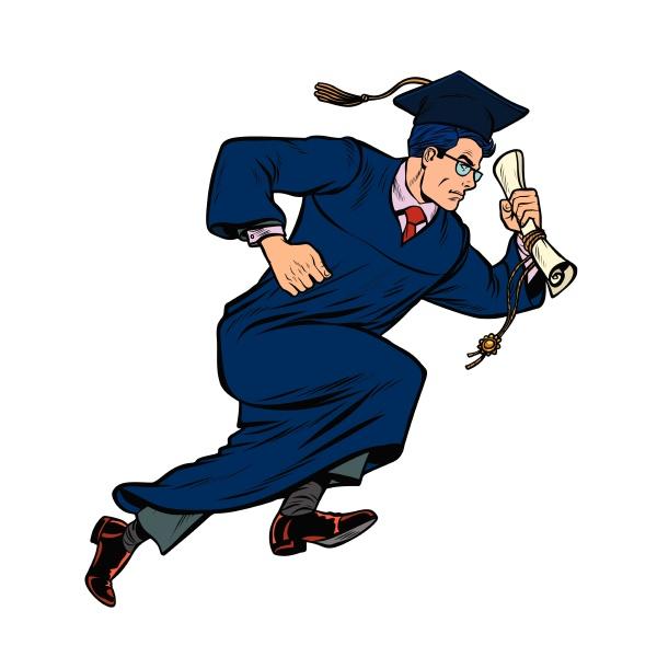 absolvent des university college isolieren auf
