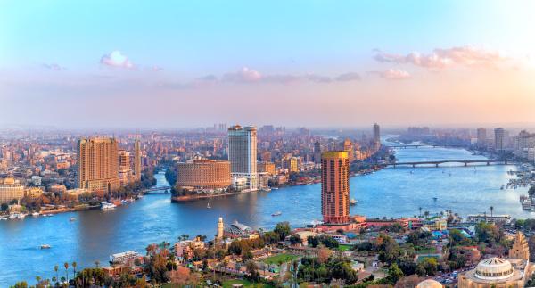 kairo innenstadt blick auf den nil