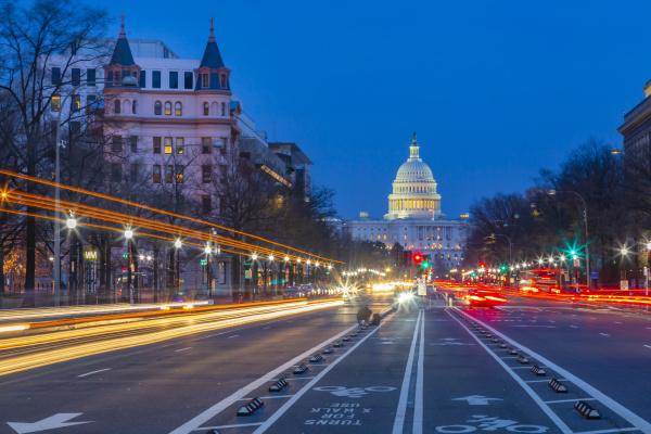blick auf das capitol building in