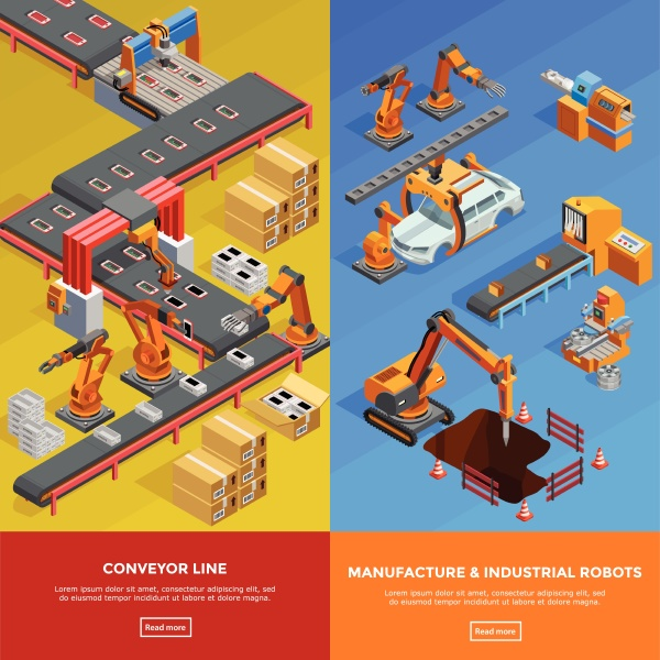 herstellung von robotern in der automobilindustrie