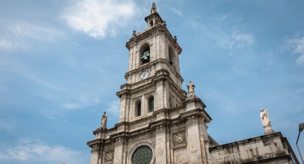 carmo kirche im historischen stadtzentrum von