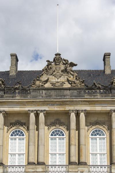 amalienborg palastkomplex gebaeude des christian vii