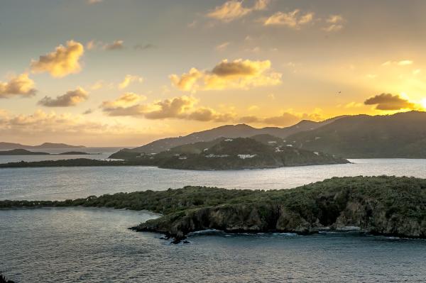 britische jungferninseln karibik scenic view