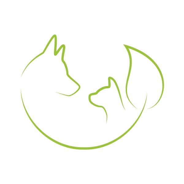 hund katze blatt tierheiler logo