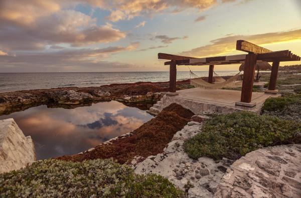 relaxation, area, in, puerto, aventuras, , mexico - 27449807