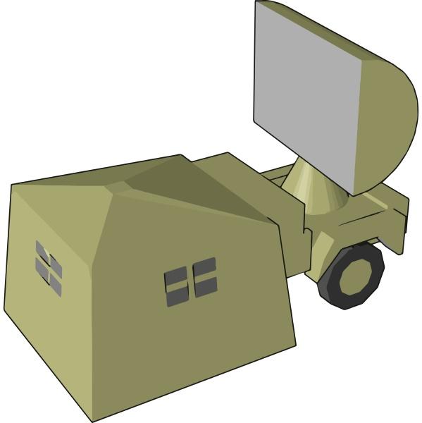 elektrooptische sensor radarvektor oder farbdarstellung