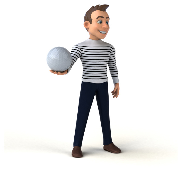 spass 3d cartoon casual charakter