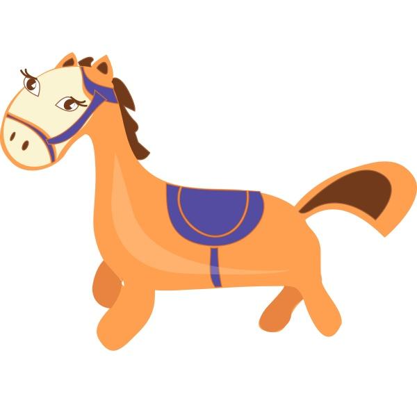 pferd vektor oder farbe illustration