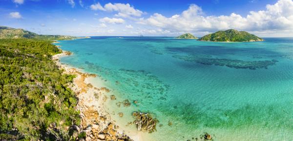 panorama luftbild von lizard island great