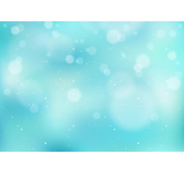 hellblauer winterhintergrund mit schneefall