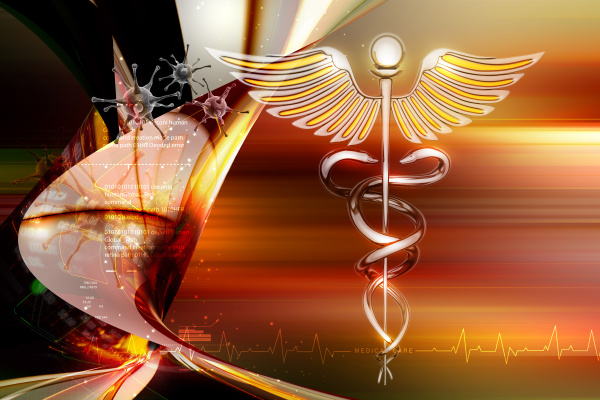 caduceus medizinisches symbol