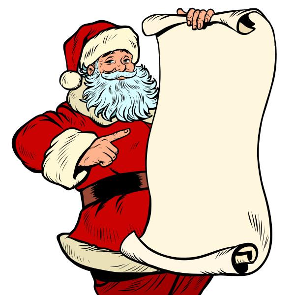 weihnachtsmann charakter weihnachten und neujahr