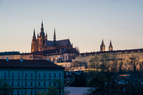 prager burg prag tschechische republik